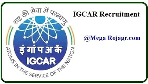 IGCAR Recruitment