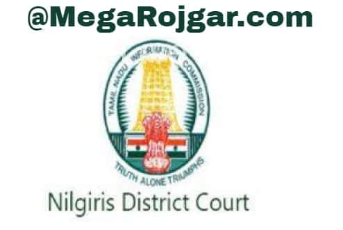 Nilgiris District Court Recruitment