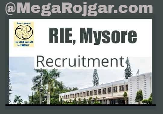 RIE Mysore Recruitment