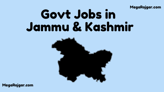 Govt Jobs in Jammu & Kashmir